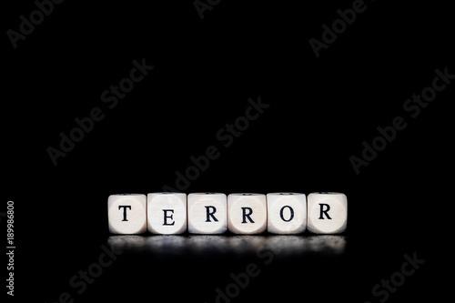 Fotomural  Terror