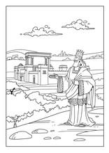 King Solomon Built The Temple ...