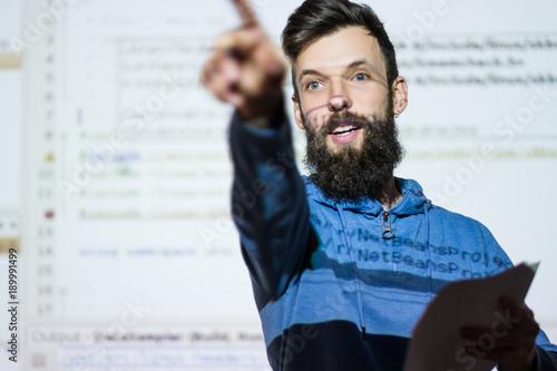 Elocution or speech craft courses Wallpaper Mural