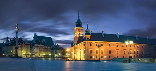 Fototapeta Royal Castle in the capital of Poland, Warsaw
