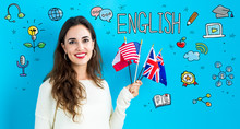 Study English Theme With Young...