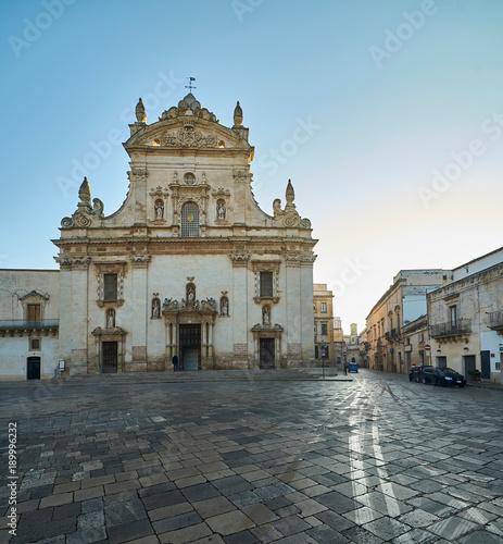 Valokuva  Church Saints Peter and Paul - Galatina in Salento- Italy