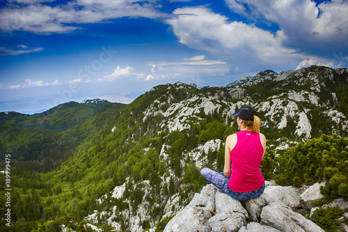 Fotografie, Obraz  Velebit mountain landscape