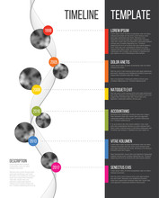 Vector Infographic Company Mil...
