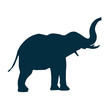elephant side view icon