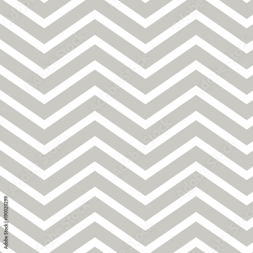 Stylish silver gray seamless chevron pattern. Repeating pattern for backgrounds, borders, gift wrap, fabric, scrapbooking and more. Pale grey, simple, sweet, classic print.