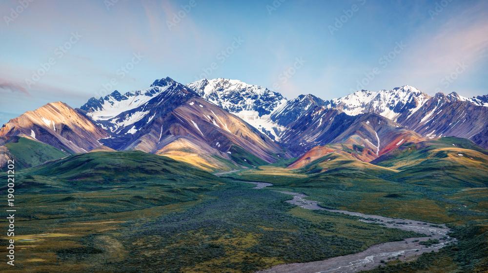 Fototapety, obrazy: Alaska Denali National Park