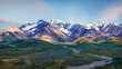 Leinwanddruck Bild - Alaska Denali National Park