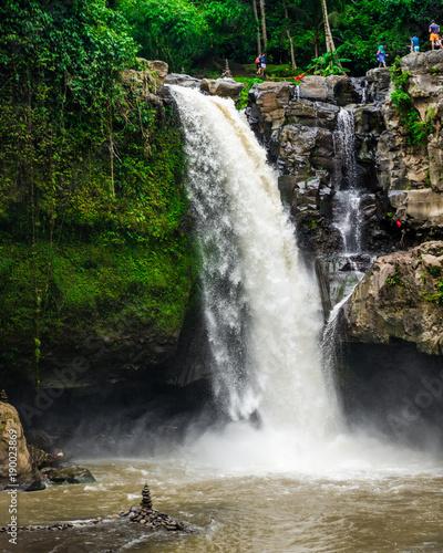 Foto op Canvas Watervallen Tegenungan Waterfall on the island of Bali in Indonesia