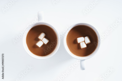 Foto op Plexiglas Chocolade hot chocolate