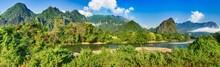 Amazing Landscape Of River Amo...