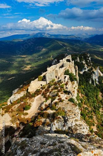 Zdjęcie XXL Ruiny zamku Cathar