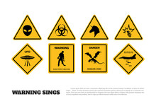 Comic Fantasy Yellow Warning S...