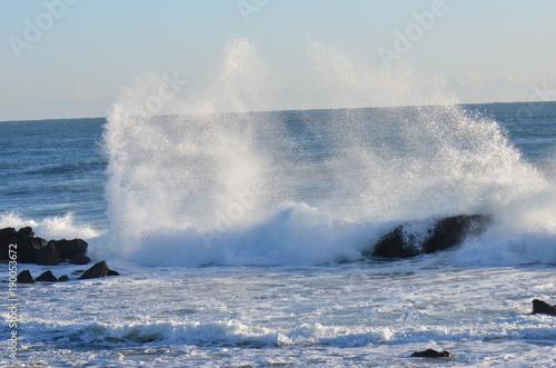 Keuken foto achterwand Zee / Oceaan 冬の海