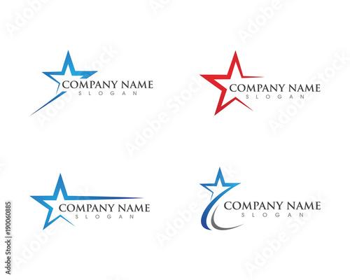 Obraz na plátně Star Logo Template