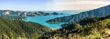 Queen Charlotte Sound In New Zealand