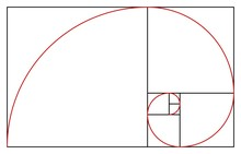 Golden Ratio Template. Proportion Symbol. Graphic Design Element. Golden Section Spiral. Vector Illustration
