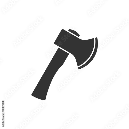 Photo Axe black icon