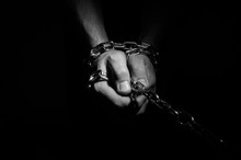 Hands Are Chained In Chains Is...