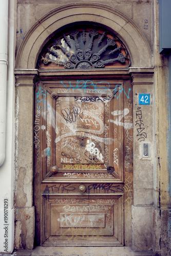 Porte En Bois Ancienne Buy This Stock Photo And Explore Similar