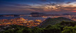 Toulon depuis le Mont Faron - Var