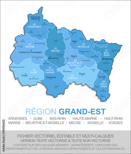 "Carte De La Region Grand Est Adobe Stock Á§ã""のストックベクターを購入して É¡žä¼¼ã®ãƒ™ã'¯ã'¿ãƒ¼ã''さらに検索 Adobe Stock"