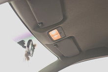 Open Ceiling Light In The Car