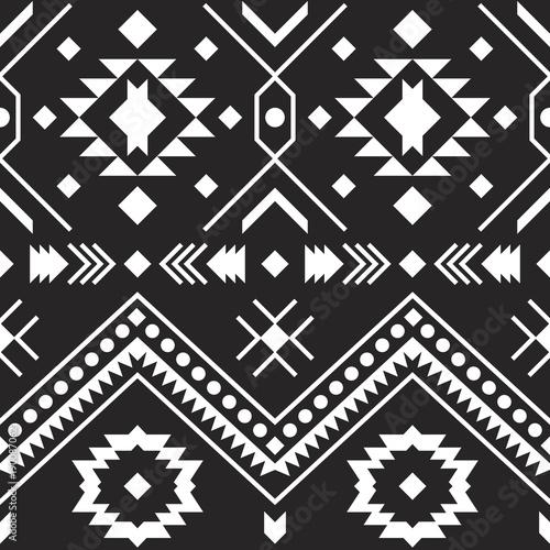aztecki-wzor-plemienny-wzor-geometryczny