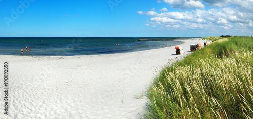 Spoed Foto op Canvas Noordzee Strand Dünen Panorama