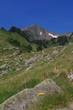 Paysage de montagne en Capcir dans les Pyrénées Orientales