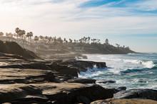 Windansea Beach Eroded Cliffs ...