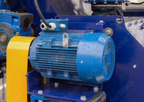 Fotografia, Obraz New powerful electric motor for modern industrial equipment