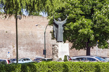 Monument To Catherine Of Siena...