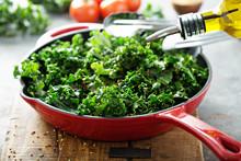 Sauteed Kale With Chili Flakes
