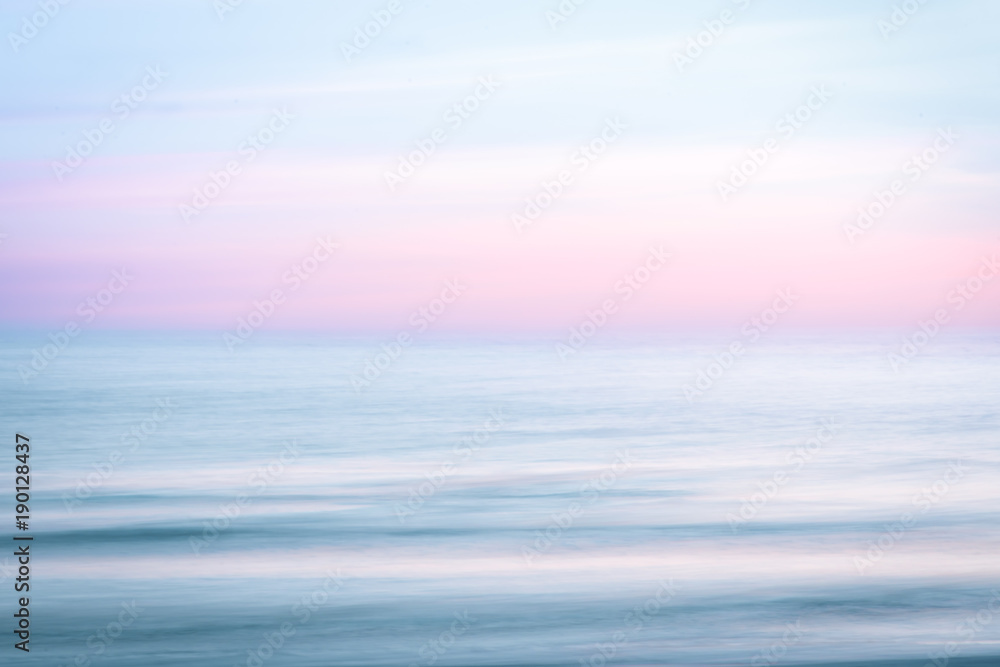 Fototapety, obrazy: Abstract sunrise sky and  ocean nature background