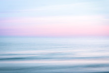 Abstract Sunrise Sky And  Ocea...