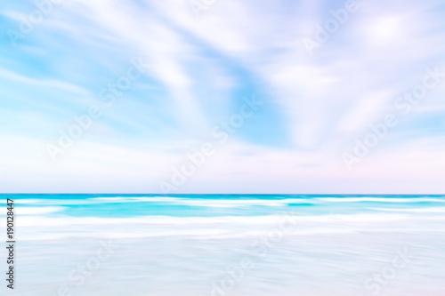 Fotobehang Zee / Oceaan Abstract sky and ocean nature background