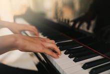 Piano Music Pianist Hands Play...