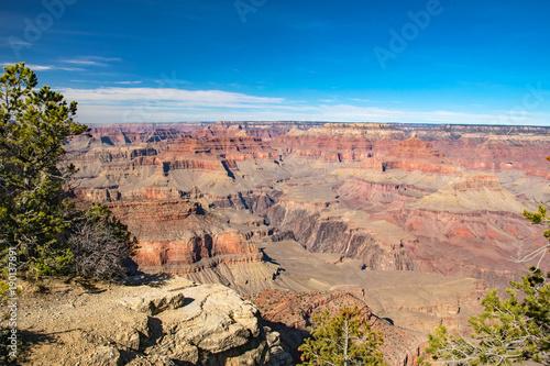 In de dag Canyon Amazing Grand Canyon, Arizona