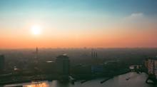 Amsterdam Rooftop Sunset Lands...