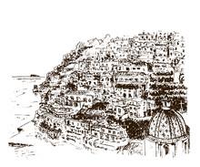 Positano, Amalfi Coast, Campan...