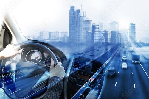 Photo  Transportation, driving concept