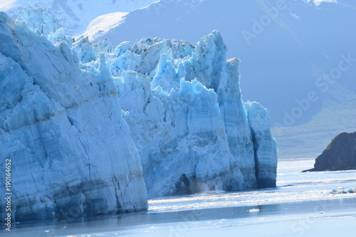 Printed kitchen splashbacks Glaciers Glacier Clear