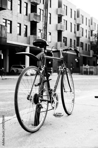 Deurstickers Fiets an ordinary bike