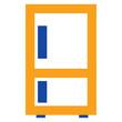 Refrigerator Flat minimal icon vector