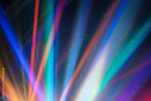 Fotografia, Obraz Abstract background image refraction of light.