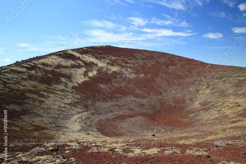 Foto op Canvas Cappuccino Volcanic Landscape Iceland Berserkjahraun, Snaefellsnes
