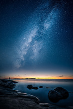 Beautiful View Of Milky Way Gl...