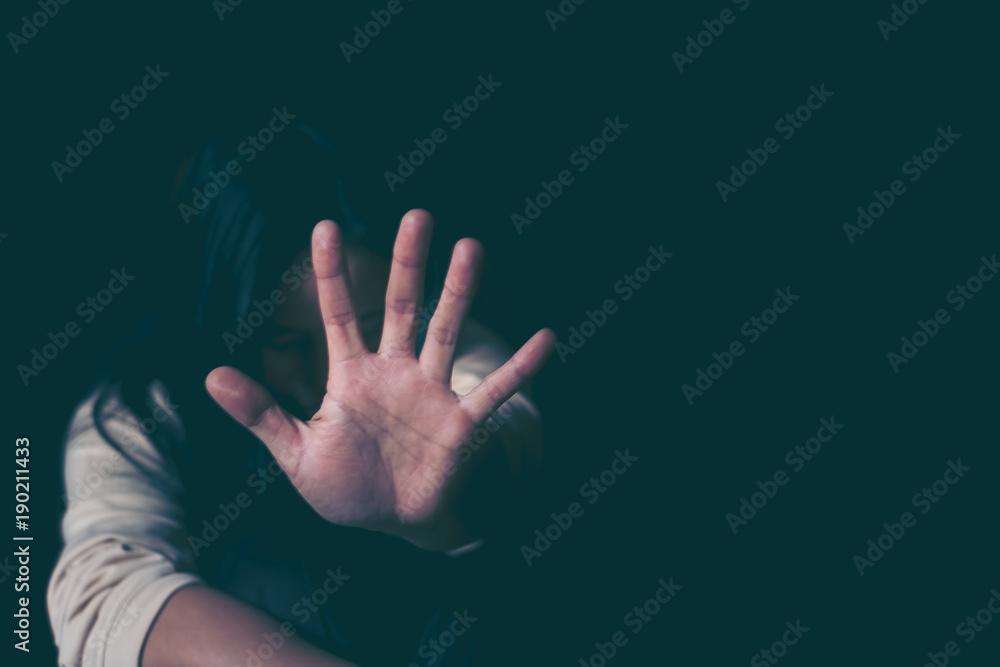 Fototapeta stop violence against Women, international women's day