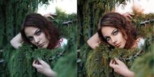 Summer Girl Portrait Before An...